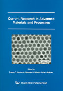Current Research in Advanced Materials and Processes