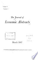 The Journal of Economic Abstracts