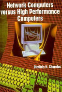 Network Computers Versus High Performance Computers