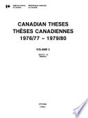 Canadian Theses