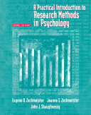 A Practical Introduction to Research Methods in Psychology Book