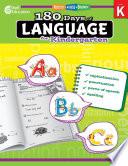 180 Days of Language for Kindergarten Book PDF