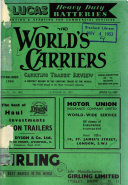 The World's Carriers and Carrying Trades' Review