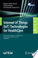 Internet of Things  IoT  Technologies for HealthCare