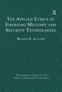 The Applied Ethics of Emerging Military and Security Technologies Pdf/ePub eBook