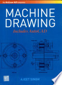 Machine Drawing Includes Autocad Book
