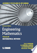 Engineering Mathematics Volume Ii Mathematical Methods For 1st Year 1st Semester Of Jntu Kakinada