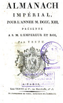 Almanach impérial de France