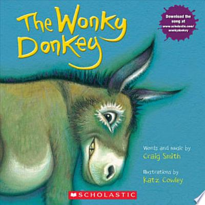 Book cover of 'The Wonky Donkey' by Craig Smith