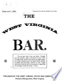 The West Virginia Bar Book