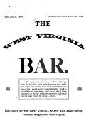 The West Virginia Bar