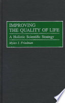 Improving the Quality of Life Book PDF