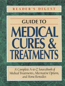 Guide to medical cures   treatments