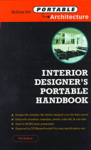 The Interior Designer's Portable Handbook