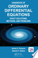Handbook of Ordinary Differential Equations Book