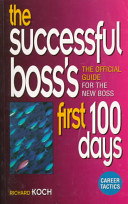 The Successful Boss S First 100 Days