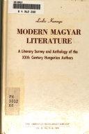 Modern Magyar Literature
