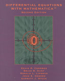 Differential Equations with Mathematica  Revised for Mathematica 3 0 Book