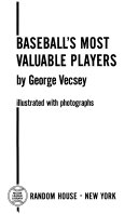 Baseball s Most Valuable Players