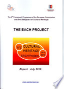 THE EACH PROJECT   Cultural Heritage   Report July 2010 Book