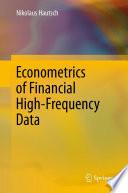 Econometrics of Financial High Frequency Data Book