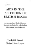 Aids in the Selection of British Books