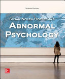 Abnormal Psychology 7E (Bound)