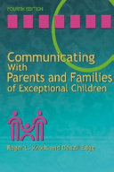 Communicating with Parents and Families of Exceptional Children