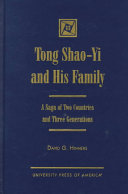 Tong Shao Yi and His Family