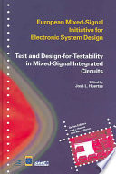 Test And Design For Testability In Mixed Signal Integrated Circuits Book PDF