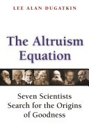 The Altruism Equation