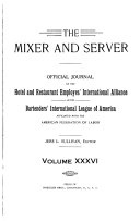 Mixer and Server Book
