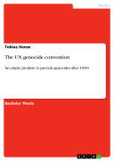 The UN genocide convention