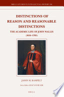 Distinctions Of Reason And Reasonable Distinctions