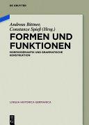 Formen und Funktionen