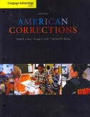 Cengage Advantage Books  American Corrections