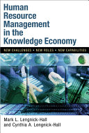 Human Resource Management in the Knowledge Economy