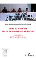 Pdf Pour la défense de la Révolution française Telecharger
