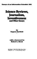 Essays of an Information Scientist Book