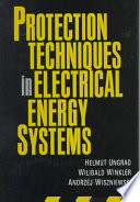 Protection Techniques In Electrical Energy Systems Book PDF
