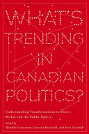 Pdf What's Trending in Canadian Politics? Telecharger