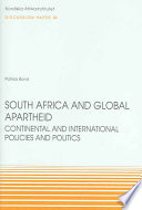 South Africa and Global Apartheid