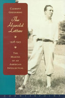 The Harold Letters, 1928-1943
