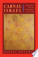 """Carnal Israel: Reading Sex in Talmudic Culture"" by Daniel Boyarin"
