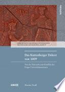 Das Kuttenberger Dekret von 1409
