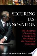 Securing U S Innovation
