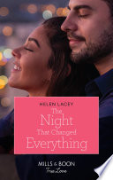 The Night That Changed Everything  Mills   Boon True Love   The Culhanes of Cedar River  Book 5