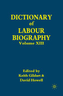 Dictionary of Labour Biography Pdf