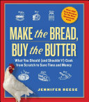 Pdf Make the Bread, Buy the Butter