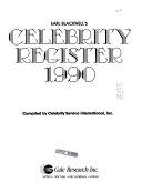 Celebrity Register